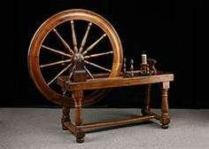 Louis XVI decided to make Marie Antoinette a spinning wheel. After spending hours in his workshop constructing the wheel, he proudly presented it to her.