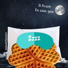 En uzun gecede rüyalarınız waffle dolu olsun! #AbbasWaffleAnkara #21Aralık #EnUzunGece #WaffleDoluRüyalar