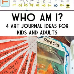 4 Who Am I Art Journal Activities to Do With Kids