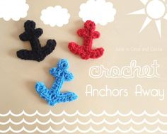 Crochet Anchors Away - Julie is Coco and Cocoa
