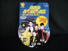 New Kids On The  Block action marbles by ladygirlsboutique on Etsy, $8.00