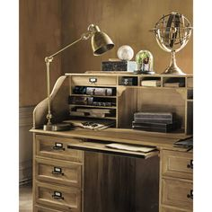 Metal and Wood Desk - Naturaliste Naturaliste | Maisons du Monde