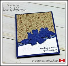Stampin Up Love and Affection for Happy Stampers blog hop, by Sandi @ www.stampinwithsandi.com
