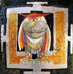 'Mandala Owl' by Franco Anselmi