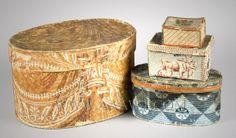 Wallpaper Boxes, 19th Century
