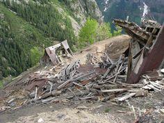 Coloradopast.com - Ghost Town Photography - Smuggler-Union Mine, Colorado