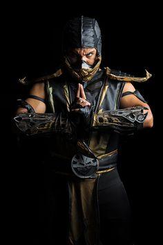 Scorpion from Mortal Kombat by Raul Porras - Comicpalooza 2013