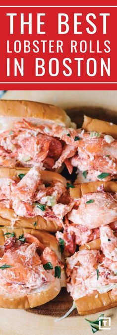 From the cheapest and smallest to the largest and priciest, here are the best lobster rolls to be found in Boston. Lobster Roll Recipes, Best Lobster Roll, Seafood Recipes, Boston Vacation, Boston Travel, Boston Shopping, Crab Rolls, Lobster Rolls, In Boston