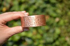stamped bracelet statement bangle handmade jewelry handmade bracelet copper cuff gift for mum bridesmaid wedding gift pure copper Handmade Jewelry Bracelets, Cuff Bracelets, Bangles, Unique Jewelry, Copper Cuff, Copper Jewelry, Wedding Gifts For Bridesmaids, Elements Of Design, Pure Copper