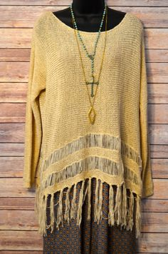 Cream Crush Sweater from The Charming Arrow Boutique