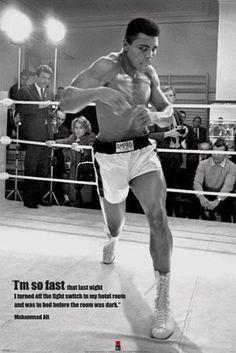 I'm so Fast - Muhammad Ali in Training