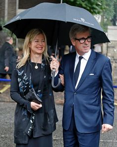Lady Helen Taylor and Tim Taylor attend the funeral of Patricia Knatchbull, Countess Mountbatten of Burma at St Paul's Church, Knightsbridge on June 27, 2017 in London, England.