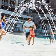 Let it be a family affair on and off the property. Located in the heart of Pensacola Beach, there's always something to do at the Hilton. 😍 Pensacola Beach Hotels, Family Affair, Something To Do, Louvre, In This Moment, Photo And Video, Building, Travel, Instagram