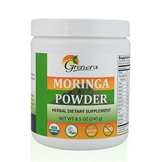 Organic Moringa Leaf Powder  84 oz  240 g -- You can find out more details at the link of the image.