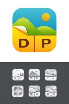 Dribbble - DePict-App-Icon-iOS7-design-ramotion-big.png by Ramotion