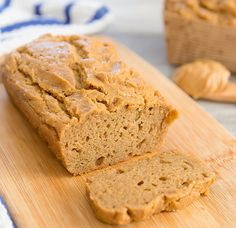 Flourless Peanut Butter Bread