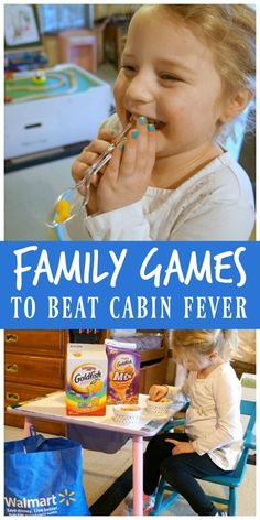 6663165863c Family games to beat cabin fever, indoor family fun. #ad #GoldfishGameTime @