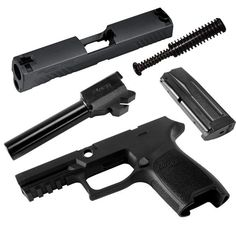 Caliber X-Change Kit, P320 Compact, 9MM, BLK, 10 Rounds