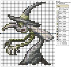 The Nightmare Before Christmas – Witch » Birdie Stitching