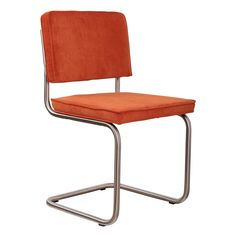Purify with this tube chair Ridge truly timeless, affordable design chair neergezet.Nu also available in the brushed version. This very comfortable chair spring Library Furniture, Office Seating, Modern Rustic, Chair Design, Floor Chair, Designer, Vintage Inspired, Bar Stools, Your Style