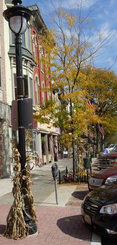 Main Street in Downtown Stroudsburg, PA