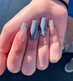 How to choose your fake nails? - My Nails Summer Acrylic Nails, Best Acrylic Nails, Acrylic Nail Designs, Gorgeous Nails, Pretty Nails, Milky Nails, Nail Art Strass, Nail Polish Pens, Nail Pen
