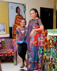 #businessshoutoutmondays  I love this pic.  Shout out to my big sis @lkavliscofabrics who thru her business have made my love for Ankara real. I swear I wudnt have loved these prints but for her and how she has sold it so well to us all that we can help but love it!  Here she is standing out with her very trendy #minime. Don't y'all love the fabrics.  You can visit their store at  LKA Fabrics, 16, Ajao road opposite time square event center off Adeniyi Jones, Ikeja, Lagos and the outlets at…