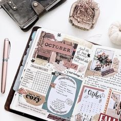 October begins soon and for me that means planning my 2019 journals. I'm trying to keep it to 10 different journals but it's a struggle! Bullet Journal School, Planner Bullet Journal, Bullet Journal Aesthetic, Bullet Journal Notebook, Bullet Journal Ideas Pages, Bullet Journal Inspo, Bullet Journal Spread, Life Journal, Planner Book