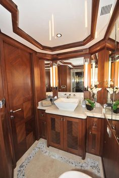 183 best Boat Interiors images on Pinterest   Sailing ships  Boat     Glamorous Yacht Interior Design Examples That Will Amaze You