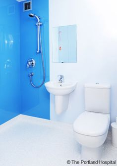 Portland hospital flooring repins pinterest for Carrelage adhesif salle de bain avec neon led 30 cm