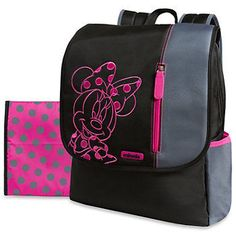 Disney at Kohl's - Shop our wide selection of diaper bags, including Disney Minnie Flap Diaper Backpack, at Kohl's. Baby Girl Diaper Bags, Baby Girl Newborn, Baby Bags, Diaper Backpack, Backpack Bags, Jack Daniels Fudge, Disney Kitchen Decor, Baby Kids Clothes, Baby Items