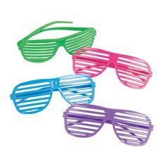 Shutter Shading Glasses - OrientalTrading.com