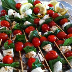 Appetizer or side ideas: Italian Dinner Club Dinner Party Menu, Dinner Club, Dinner Themes, Dinner Parties, Italian Wedding Foods, Italian Party Decorations, Italian Themed Parties, Fingers Food, Italian Dinner Recipes