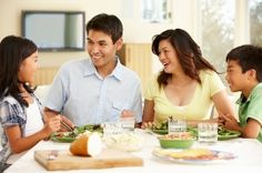 Family meals offer an environment that can make communication easier, says Margie R. Skeer. Photo: iStock