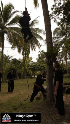 Live-in Martial Arts Training, Ninja Camp and Fitness Camp in Thailand.    Rick Tew's NinjaGym™ Martial Arts and Fitness    NinjaGym.com    Attribution: This work by NinjaGym™ Martial Arts & Fitness is licensed under a Creative Commons Attribution-NoDerivs