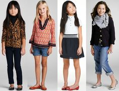 Again, seriously, adorable kid clothing: Tory Burch children's collection.