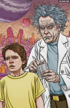 Doc and Marty / Rick and Morty