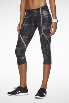 Nike Luxe Capris. <3 these!