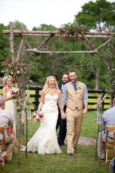 Country Backyard Wedding | Pinterest | Country backyards, Backyard ...
