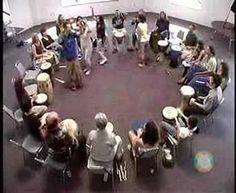 ▶ Kalani : Group Drumming : Signals Game - YouTube