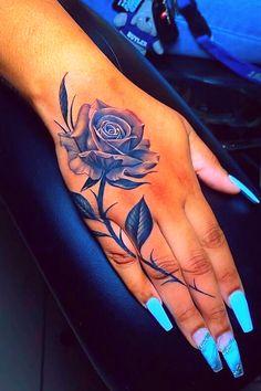 Cute Hand Tattoos, Hand Tats, Pretty Tattoos, Body Art Tattoos, Tattoo Drawings, Tribal Tattoos, Tatoos, Cover Up Tattoos For Women, Dope Tattoos For Women