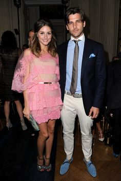 Olivia Palermo and Johannes Huebl Photo - Valentino: Backstage and Front Row - Paris Fashion Week Haute Couture F/W 2013