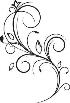 Vector Floral Flourish Royalty-Free ...