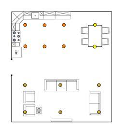 Recessed Light Spacing In Bedroom.Modern Bedroom With Aluminum Sliding Doors Modern . Family Room Recessed Lighting Layout DoItYourself Com . Living Room Lighting, Home Lighting, Ceiling Lighting, Livingroom Lighting Ideas, Recessed Ceiling Lights, Ceiling Light Design, Pendant Lights, Kitchen Recessed Lighting, Installing Recessed Lighting