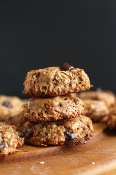 SIMPLE, naturally sweetened Vegan Gluten Free Cookies | Double Peanut Butter Chocolate Chip!