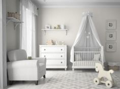 How to decorate your baby room in One Day by www.rockymountaindecals.ca