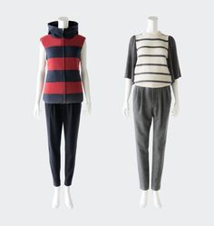 BORDERS at BALCONY TROUSER B-13 #2013AW #bordersatbalcony #border B 13, Balcony, Pajamas, Pajama Pants, Trousers, Image, Collection, Fashion, Terrace