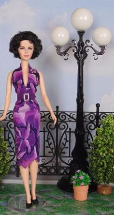 Purple Passion for Silkstone Barbie by HankieChic on Etsy now by loretta