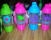 Personalized Toddler Sippy Cup with Snack Holder Back to school SALE