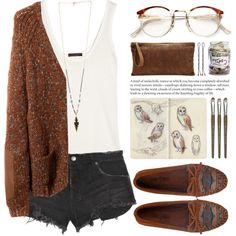 """Barn owl"" by ctodtims on Polyvore"